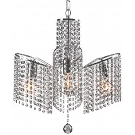Keith Chrome Ceiling Lamp