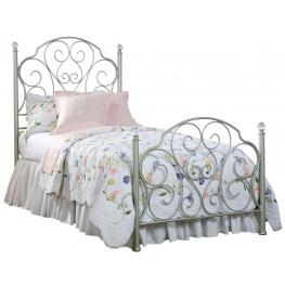 Spring Rose Full Metal Bed