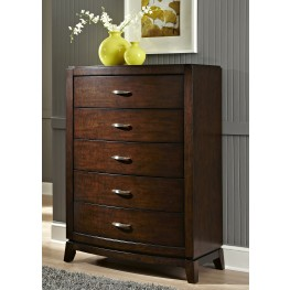 Avalon Truffle 5 Drawer Chest