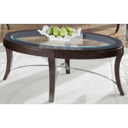 Avalon Oval Cocktail Table