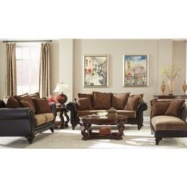 Garroway Russet/ Chocolate Living Room Set