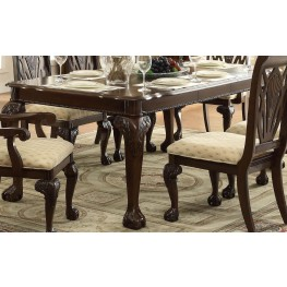 Norwich Warm Cherry Leg Dining Table