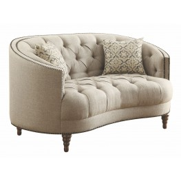 Avonlea Stone Grey Loveseat