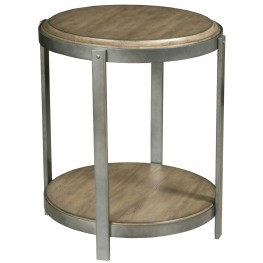 Evoke Barley Round Accent Table