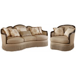 Giovanna Golden Quartz Living Room Set