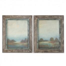 Morning Vistas Framed Art Set of 2