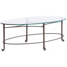 Villa Couture Antique Bronze Fabi Cocktail Table