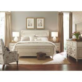 Southbury Parchment Panel Bedroom Set
