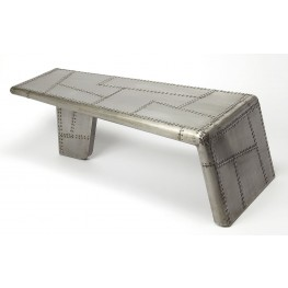 Industrial Chic Yeager Aviator Cocktail Table