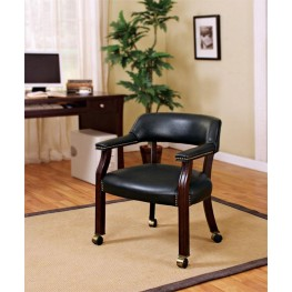 Black Office Guest Chair 515K