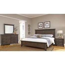 Cassel Park Rich Cocoa Plank Bedroom Set