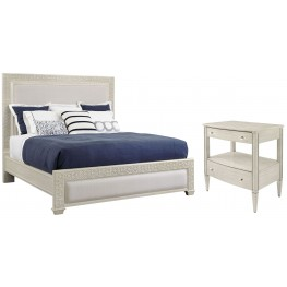Coastal Living Oasis Oyster Catalina Panel Bedroom Set