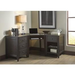 Autumn Oaks II Black Home Office Set