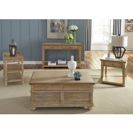 Harbor View Sand Occasional Table Set