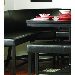 Papario Nook Corner Counter Height Chair Set of 2