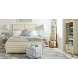 Driftwood Park Vanilla Oak Youth Panel Bedroom Set