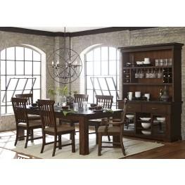 Schleiger Brown Dining Room Set