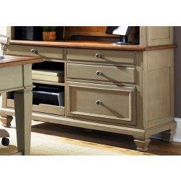 Bungalow Taupe Jr Executive Credenza