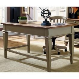 Bungalow Taupe Jr Executive Desk