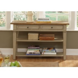 Bungalow Taupe Sofa Table