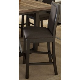 Compson Walnut Counter Height Chair Set of 2