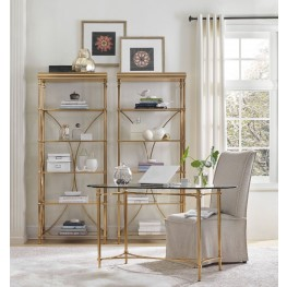 Highland Park Gold Home Office Set