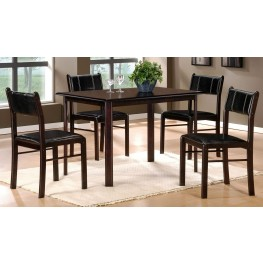 Albany 5-Piece Pack Dinette Set