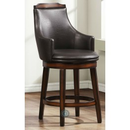 Bayshore Swivel Pub Height Chair Set of 2