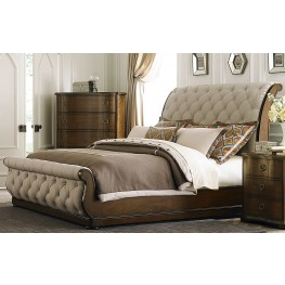 Cotswold Upholstered Sleigh Bedroom Set