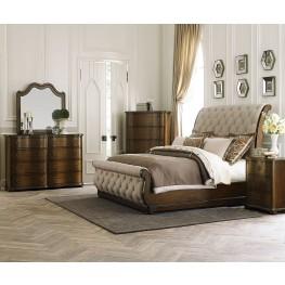 Cotswold Upholstered Sleigh Bedroom Set