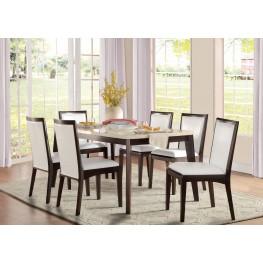Tijeras Brown Dining Room Set