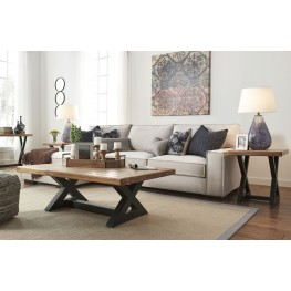Kendleton LAF Stone Sectional