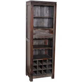 Grey Wash Wine Cabinet