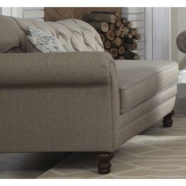 Carnahan Stone Gray Chaise