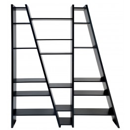 Delta Black 3 Piece Bookcase