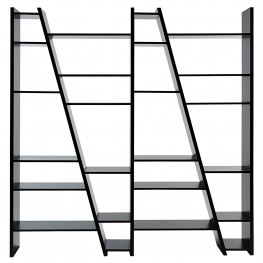 Delta Black 4 Piece Bookcase