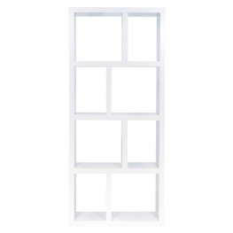 Berlin White 27 Inch 4 Shelf Bookcase
