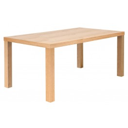 "Multi Oak 71"" Table Top with Square Veneered Legs"