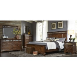 Coronado Tobacco Panel Bedroom Set