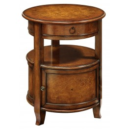 1 Door 1 Drawer Accent Table 56340
