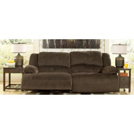 Toletta Chocolate 2 Seat Reclining Sofa