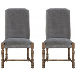 Authenticity Khaki Brussels Side Chair Set of 2
