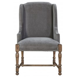 Authenticity Khaki Brussels Host Arm Chair