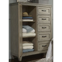 Grayton Grove Driftwood Door Chest