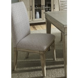 Grayton Grove Driftwood Upholstered Side Chair Set of 2