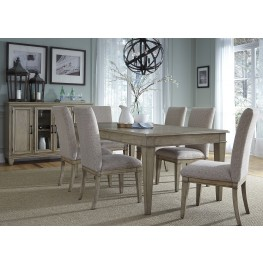 Grayton Grove Driftwood Extendable Dining Room Set