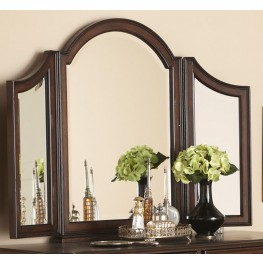 Arbor Place Brownstone Tri View Vanity Mirror