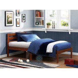 Bart Cherry Twin Platform Bed