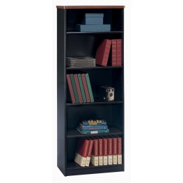 Series A Hansen Cherry 26 Inch 5-Shelf Bookcase