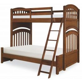 Academy Cinnamon Twin over Twin Bunk Bed